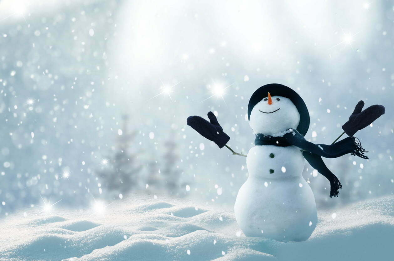 Festive Snowman for blog on How to build a winning Christmas campaign on a budget